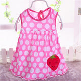 2018 summer   high-quality baby princess dress, 0-1 ye old baby girl,  born baby girl cotton clothes, we formal dress