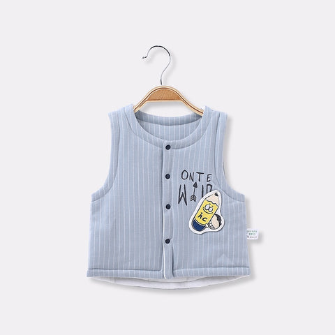Autumn Winter Baby Vest Cotton Baby Girls Waistcoat Toddler Boys Vest Girl Clothes Outerwear Newborn Boy Coats Infants Outfits