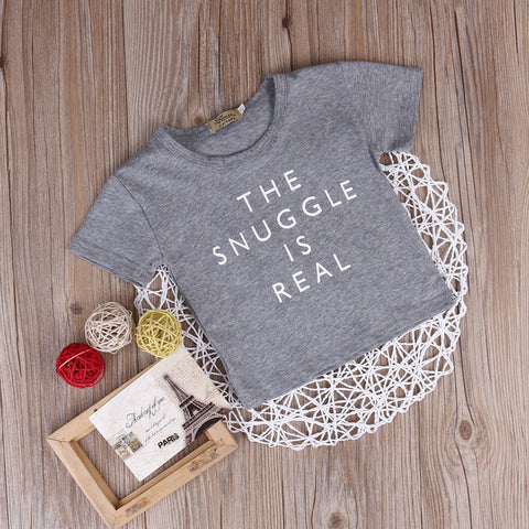 Baby Boy Clothing Letter Outfit Tops Tee Newborn Kid Summer Clothes Baby Boys Girls Tops Short Sleeve T Shirts