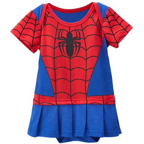 d5108f866 Baby Boys Girls Spiderman Costume Newborn Avengers Romper Toddler Party  Playsuit Superhero Cosplay Jumpsuit Infant boy clothing
