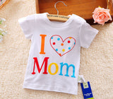Baby Boys girls T-shirt 2018 Summer New Baby Clothing Baby Boys Short Sleeves T shirt Kids tops Cotton Cartoon Baby tees