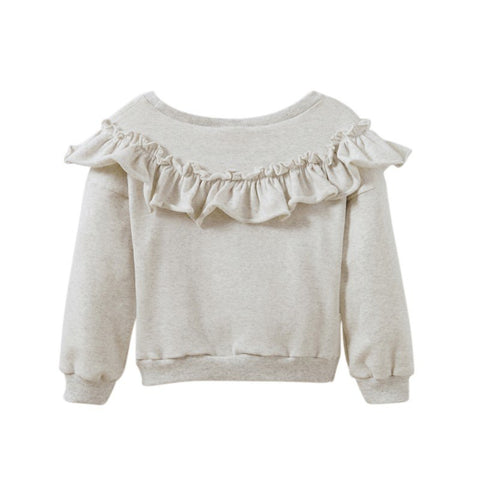 Baby Girl Sports Sweater Petal Sports Fashion Spring Long Sleeve Baby Sweater Sweatshirts Baby Clothes