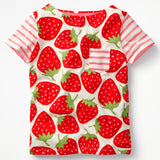 Baby Girl Tops Tee Clothing Boys T-Shirts For Newborn Bebes Clothes Strawberry Fruit Blouse Cotton Kids Children Enfant T Shirt