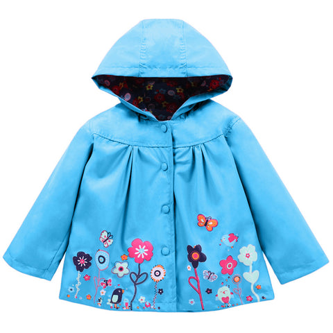 Baby Girls Jacket 2018 Autumn Winter Jackets For Girls Windbreaker Boys Kids Outerwear Coats For Girls Raincoat Children Clothes