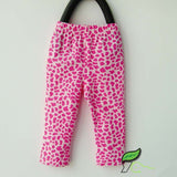 Baby Girls Leggings Spring Summer Kids Cotton Leggings Pencil Pants Leopard Zebra Comfortable Stretchy Pants Hot Trousers