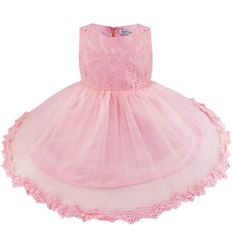 Baby One Year 1ST Birthday Dress Newborn Infant Infantil Bebes Princess Birthday Party Dresses Toddler Girl Formal Tutu Clothing