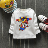 Baby Toddler Kids Cotton Lovely Giraffe Print Boys Girls T-shirt Button on Shoulder O-neck Pink Yellow Blue White Clothes G043