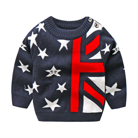 Baby boys sweater winter infant warm pullover outerwear for girls toddler autumn velvet coats  norn baby clothes fashion
