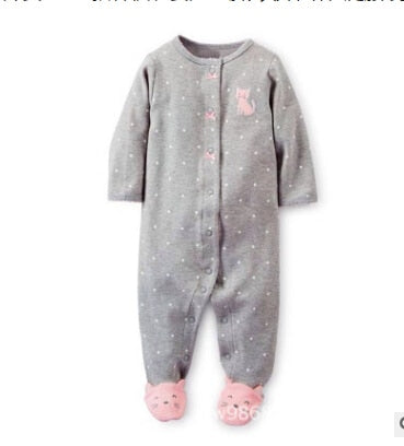 Baby clothing !  2018 new born baby clothes newborn - 1 years old ropa  baby girl romper 100% cotton  costume