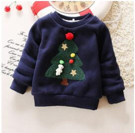 Baby Girls Sweaters Winter 2018 New Toddler Girl Long Sleeve Clothes Kids Autumn Cartoon Sweater For Girls and Boys