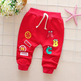 2018 Baby Pants Spring Autumn Cotton Good Quality Trousers Baby Boys Pants Girls Pants 0-3 Year Kids Pants