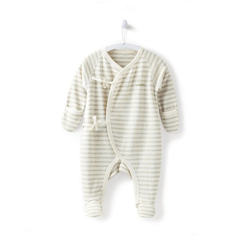 Newborn Baby Girl Underwe Footies Infant Boy Jumpsuit with Mitten Baby Clothes for Newborn 0-3 Months NY550024
