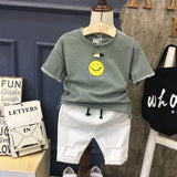 Casual Clothes for Baby Boys 2018 Summer New Fashion Clothes Shirts Cotton Soft Tee for Summer Beach Sports Clothing for Kids