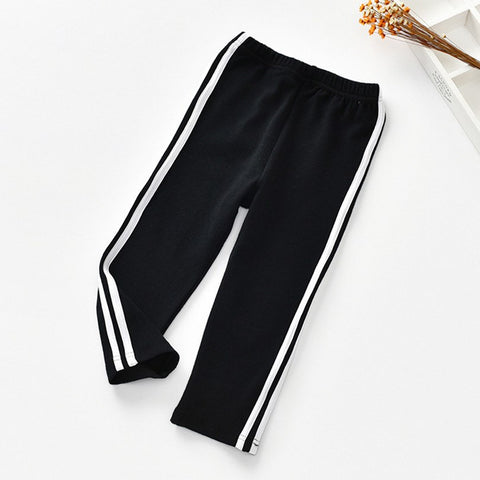 Casual Girls Leggings 2 Colors Autumn Ankle-length Pants For Girls 2018 New Cotton Baby Girl Clothes Children Pencil Trousers