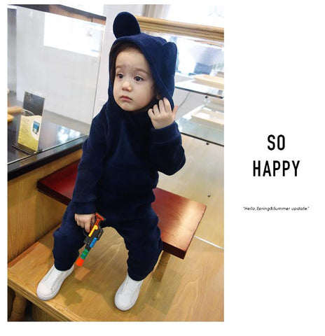 Children Clothing 2018 Autumn Winter Girls Clothes Hoodies+Pants Kids Costume Boys Clothes Sport Suit For Girls Clothing Sets