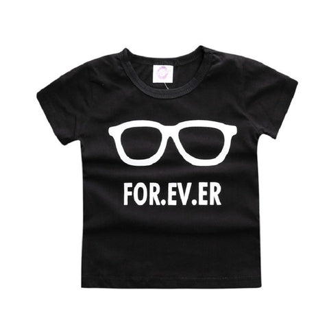 Children t shirts Letter Clothes T Shirts For Girls Boys t-shirts casual Kids Short Sleeve Baby Children's Clothing