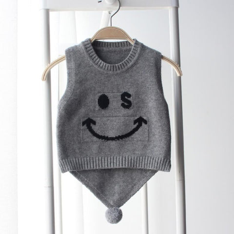 Christmas Newborn Infant Girl Boy Baby Vests Cartoon Bow Knit Sweaters –  ToysZoom