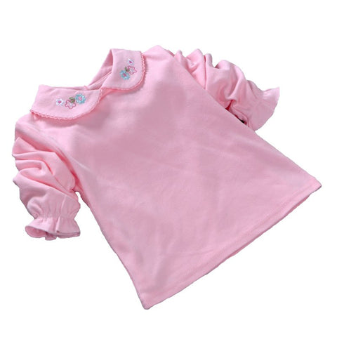 Fashion Baby Clothes Girls T shirt Long Sleeve Cotton Newborn Infant Clothing Toddler Girls Print Baby T-shirt 2018 New Autumn