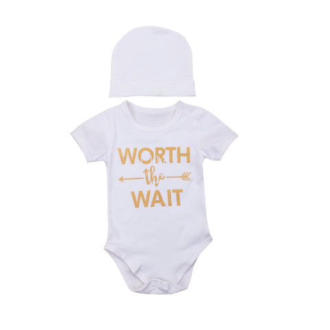 Fashion New Cotton Lovely Toddler Kids Baby Boys Girls Newborn Short Sleeve Romper + H Summer Cute Clothes Sets