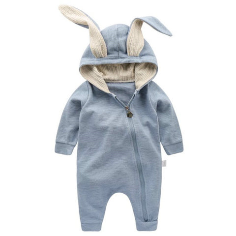 New Spring Autumn Baby Rompers Cute Cartoon Rabbit Infant Girl Boy Jumpers Kids Baby Outfits Clothes for 0-2 years old k1