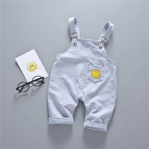Girl Boy Overalls Cute Cartoon Baby PP Pants 2018 Kids Infant Toddler Overall Baby Boy and Girl Casual Children's Trousers