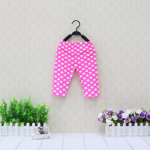 Girls Cotton Leggings Baby Long Trousers Children Summer and Autumn Pants Newborn clothes