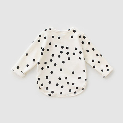 Girls Long Sleeve T-shirts Stars Printed Children's Sweatshirt 2018 New Spring Boys Tops Outwear Casual Kids Shirt Drop Shipping