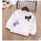 Girls bottoming shirt new autumn Korean version of the cotton wild fashion children's long-sleeved cartoon multi-color optional