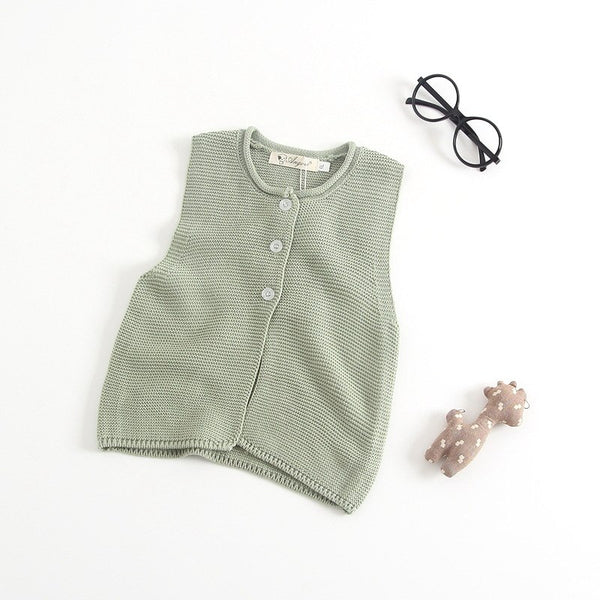 73e674721 Infant Cute Baby Girls Sweaters Vest Toddler Boys Sweater Cloak ...