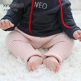 winter   baby girls Knitted leggings kids pp pants children pants warm pants 2 colors