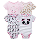 Newborn Baby Girl Rouupa De Bebe Short Sleeve Summer Outdoor Costume Baby Girl Jumpsuit