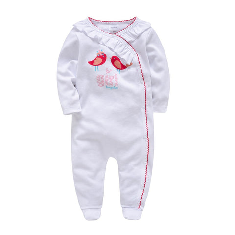 Kavkas Newborn Baby Pajamas Infantile Full Sleeve Bathrobe Baby Sleepers Boy Girl Clothing Bossa Nova roupao