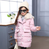 Kids Clothes 2018 Winter Jackets For Girls Clothes Children Clothing Thick Fur Coll Hooded Co Girls Winter Coats And Jackets