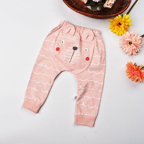 Kids leggings baby 2018 Spring Infant harem pants for baby girl clothes 100% cotton Newborn boys trousers