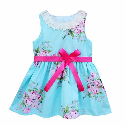 Baby Girl Lace Dress Cotton Flower Girls Dresses Princess Baby Dresses Girl Wedding Party Birthday Baby Clothing