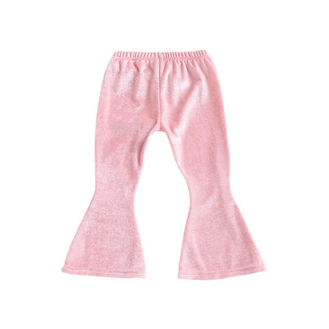 Long Trousers New Fashion Baby Clothing Baby Pants Kids Girls Bell Bottom Wide Leg Flare Stretch Boho Pants