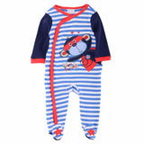 Luvena Fortuna Spring Autumn New Style Baby Boy Girl 7 Colors kids 1-Piece Long Sleeves Cotton Sleepsuit,Sold By JD China Store