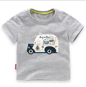 NEW Cartoon C Children t Shirts C Summer Boys Kids Short Sleeve Tees Cotton Baby Clothing Boys' t-Shirts Child Toops Tees