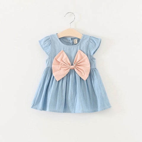 New 2018 Tutu Dress for baby Girls Cowboy Newborn Girl Birthday Party Dresses Outfit Princess dressing Cloth Summer Clothes