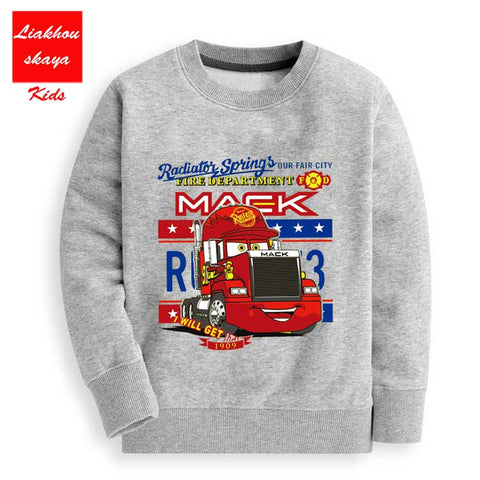 New 2018 Hot Sale Children's Cartoon C Co With Hoody For Girls Boys Warm Sweatshirts Sweaters Clothes For Girls 10 Years Old