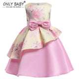 New Baby Girl Clothes Party Girls Dress Eveving Party Children's Dresses Princess Elsa Dress for The Girl 3 4 5 6 8 7 Years Old