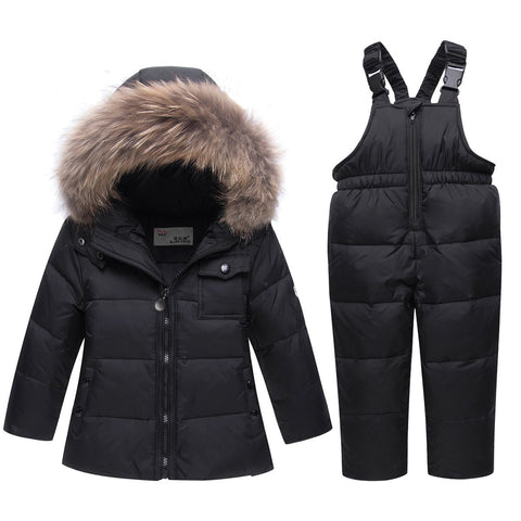 New Clothing Sets Infant Baby boy girl clothes Winter Coat Snowsuit Duck Down Jacket Girls Outfits Snow Wear Jumpsuit Hoodies