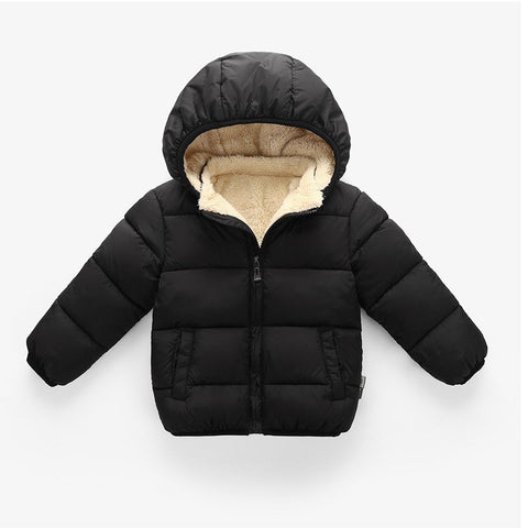 New Fashion Winter Autumn Hot Sale Children's Jackets Kids Co Baby Cotton For Spring Girls Parka Outerwe Hoodies Boys YS178