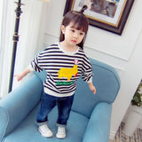 New Hot Sale Baby Kids Girls Clothes Children Sweatshirts Toddler Casual Tops Costume Long Sleeves Sweater Spring Autumn YS236