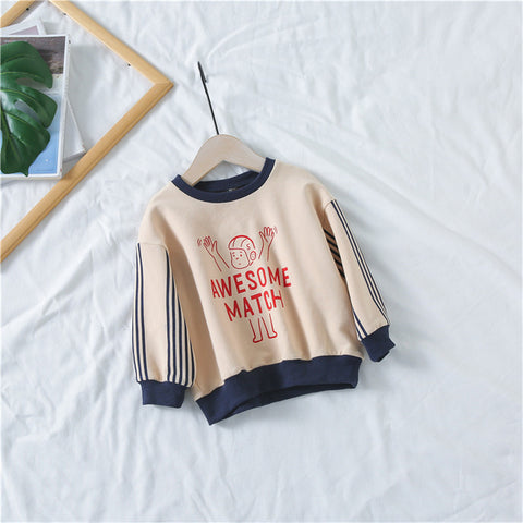 New Hot Sale Kids Girls Children Clothes Sweatshirts Toddler Baby Casual Boys Costume Long Sleeves Sweater Spring Autumn YS255