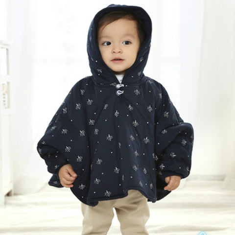 New Infant Girl Boys Hoodies Sweatshirts Autumn Winter Baby Coat Boys Girl Newborn Hooded Cloak Outwear