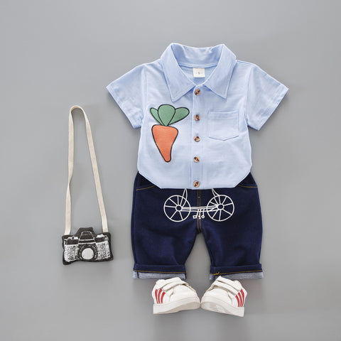 New Kids Clothes for Boys Unisex Baby Clothes for Boys Girls Casual Fashion Clothing Infant Baby Cotton Girl Boy Big Dog Clothes