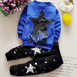 New arrival baby boy winter clothing set solid printing st dot boy's gre quality cotton cheap brand kids tassle clothes sets
