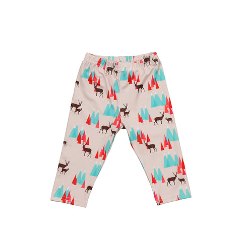 Newborn Baby Boys Girls Bottoms Long Pants Casual Leggings Harem Pants Trousers