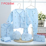 Newborn Baby Clothing Sets Baby Girls Boys Clothes Cute New Brand Baby Gift Infant Cotton Cartoon Underwear (5pcs/set)(7pcs/set)